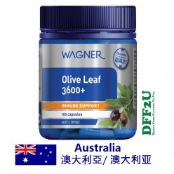 DFF2U Wagner Olive Leaf 3600+ 100 Capsules