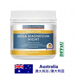 DFF2U Ethical Nutrients Mega Magnesium Night 126g