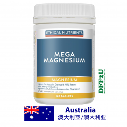 DFF2U Ethical Nutrients Mega Magnesium 120 Tablets