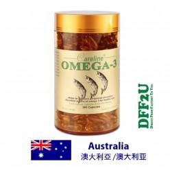 DFF2U Careline Omega-3 Fish Oil - 365 Capsules
