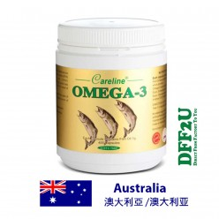 DFF2U Careline Omega-3 Fish Oil - 400 Capsules