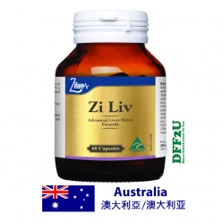 DFF2U ZI LIV For A Healthy Liver - 60 Capsules