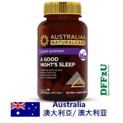 DFF2U Australian NaturalCare 晚安睡眠60片