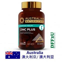 DFF2U Australian NaturalCare Zinc Plus 90 Tablets
