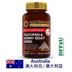 DFF2U Australian NaturalCare Testofen & Horny Goat Weed 60 Tablets