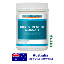 DFF2U Ethical Nutrients High Strength Omega-3 220 Capsules