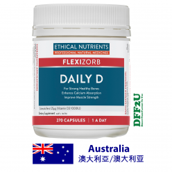 DFF2U Ethical Nutrients Daily D 270 Capsules