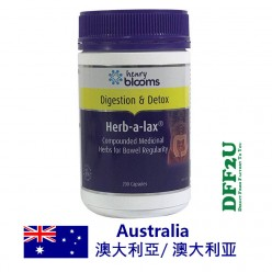 DFF2U Henry Blooms Herb-a-Lax 200 Capsules