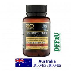 Go Healthy Gingko 9000+ - 60 Vege Capsules