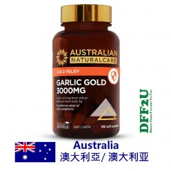 DFF2U Australian NaturalCare Garlic Gold 3000mg 180 capsules