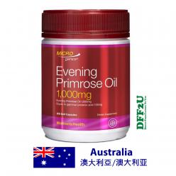 DFF2U Microgenics Evening Primrose Oil 1000mg 200 Capsules