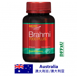 DFF2U Microgenics Brahmi 7000 Plus 60 Capsules