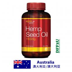 DFF2U Microgenics Hemp Seed Oil 1100mg 120 Capsules