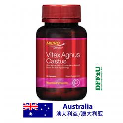 DFF2U Microgenics Vitex Angus Castus 90 Capsules