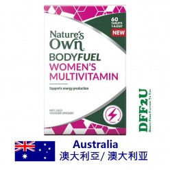 DFF2U Nature's Own Bodyfuel Womens Multivitamin 60 Tablets