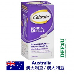 Caltrate Bone & Muscle Health Plus Once A Day 1000IU 100 Tablets
