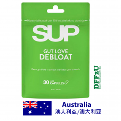 DFF2U SUP Gut Love Debloat 30 Capsules