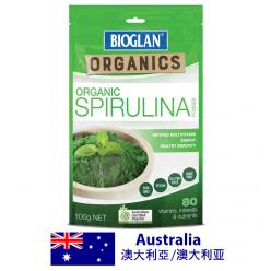Bioglan超级食品螺旋藻100克